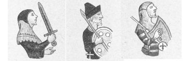 """Cittadino armato, guadia alle porte e guardia notturna da """"Il Trecento a Trieste"""", di G. Caprin"""