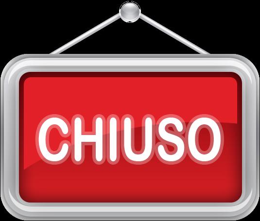Risultati immagini per CHIUSO