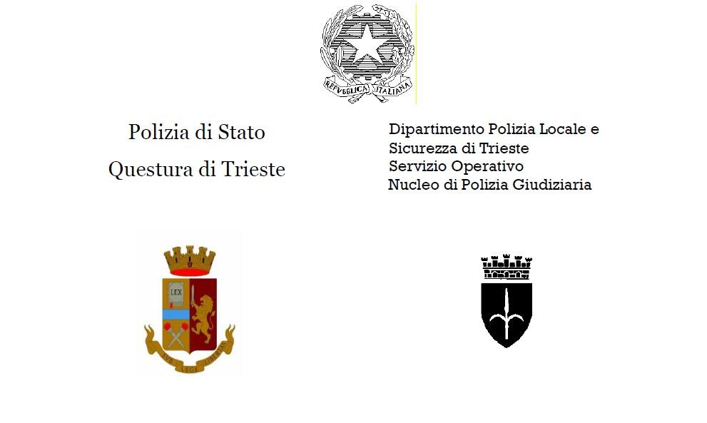 Spaccio di sostanze stupefacenti: due arresti eseguiti dalla Polizia di Stato e dalla Polizia Locale di Trieste